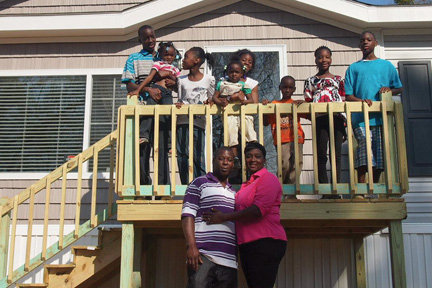lowndes county storm victims receive new homes equal