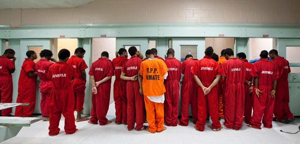 in adult prisons Children