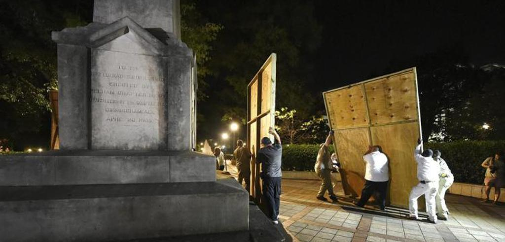 Alabama A G  Sues Birmingham For Covering Confederate Memorial