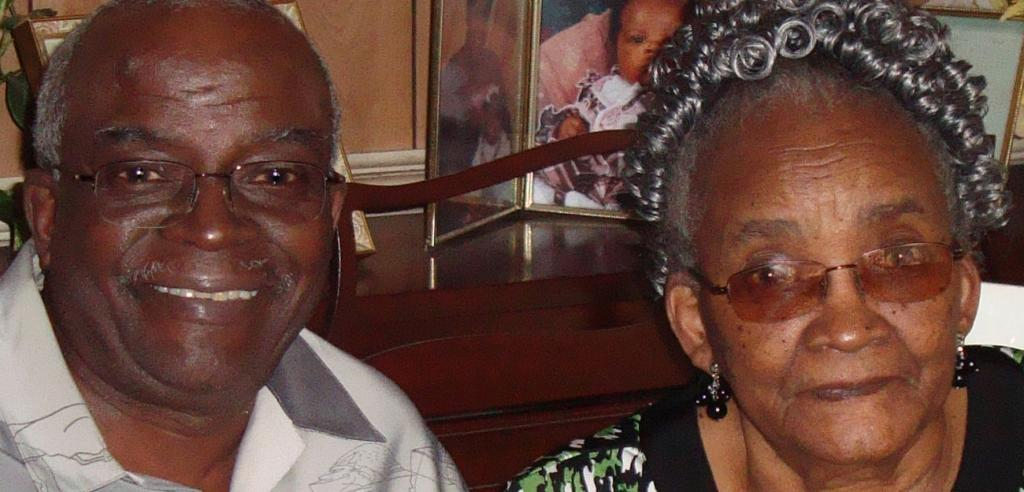 Edith Ferguson and her son Charles Morton