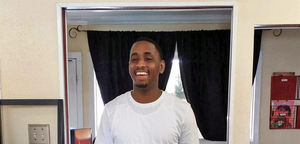Rodricus Crawford in his home after his release from Angola prison.
