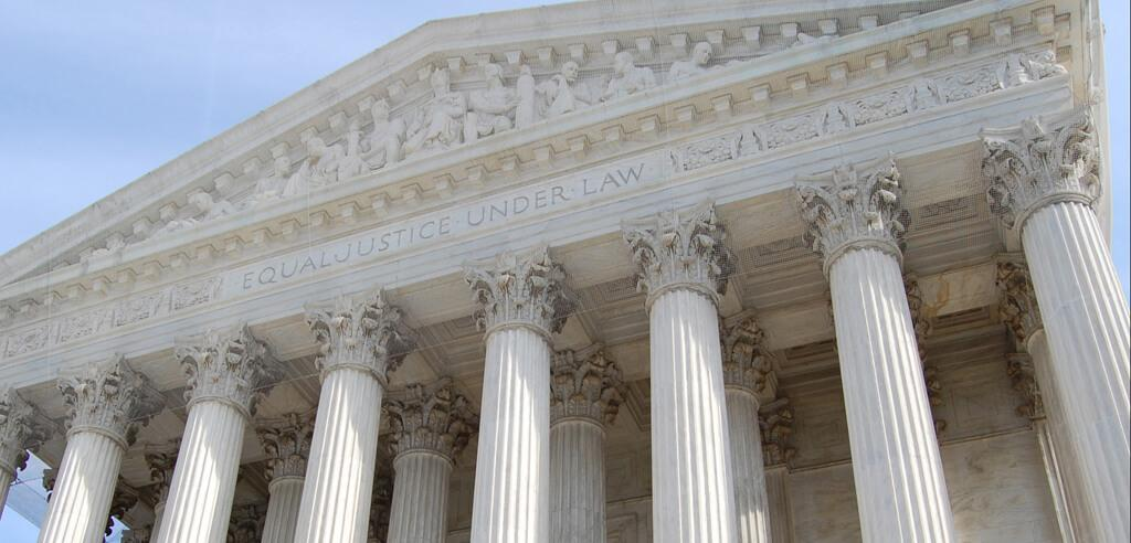 U.S. Supreme Court building in Washington, DC