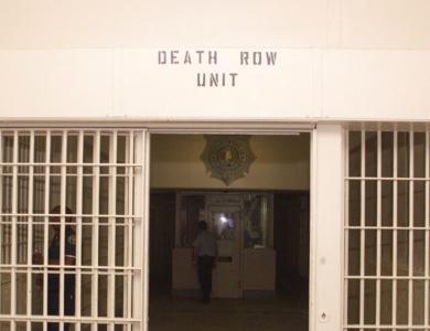 Death row unit at Holman Prison in Atmore, Alabama